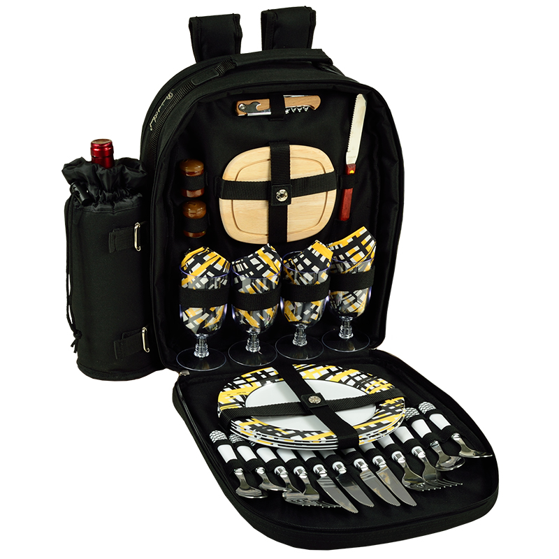 Four  Person Picnic Backpack