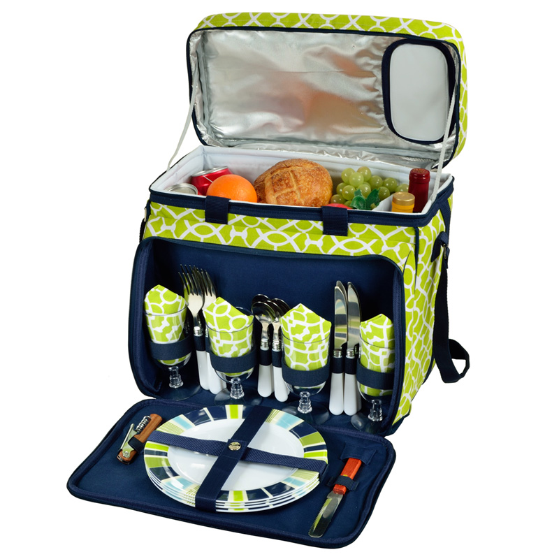 Deluxe Picnic Cooler for Four