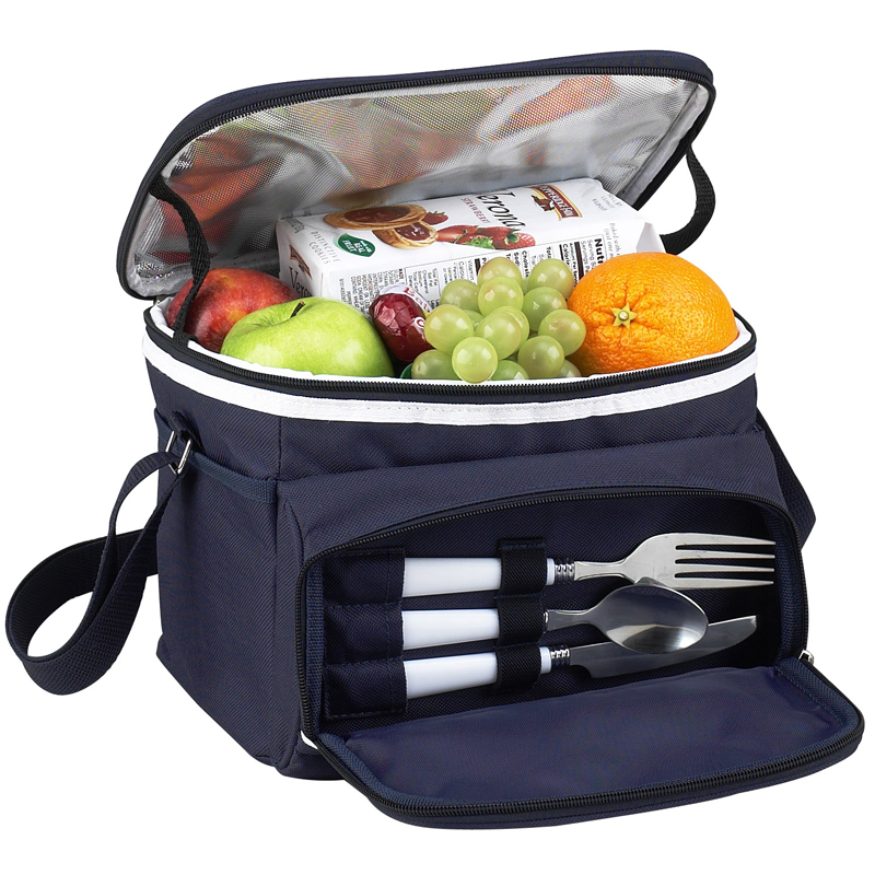 Attractive Leak Proof Lunch Cooler With A Front Zipped