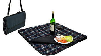 Picnic Blanket with waterproof backing