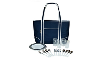 Insulated Cooler Tote for Four