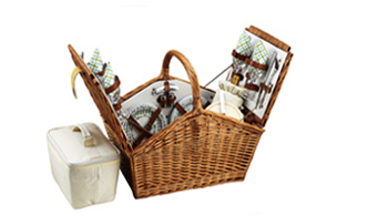 Huntsman Picnic Basket for Four