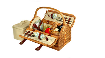 Sussex Picnic Basket for Two