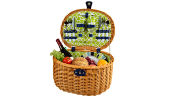 Ramble Picnic Basket for Two