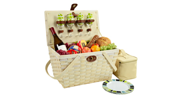 Settler Picnic Basket for Four